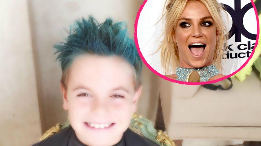 Die coolste Mom! Britney Spears' Sohn hat jetzt blaue Haare