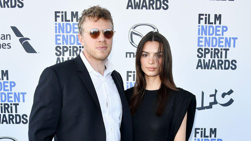 Emily Ratajkowski mit ihrem Mann Sebastian