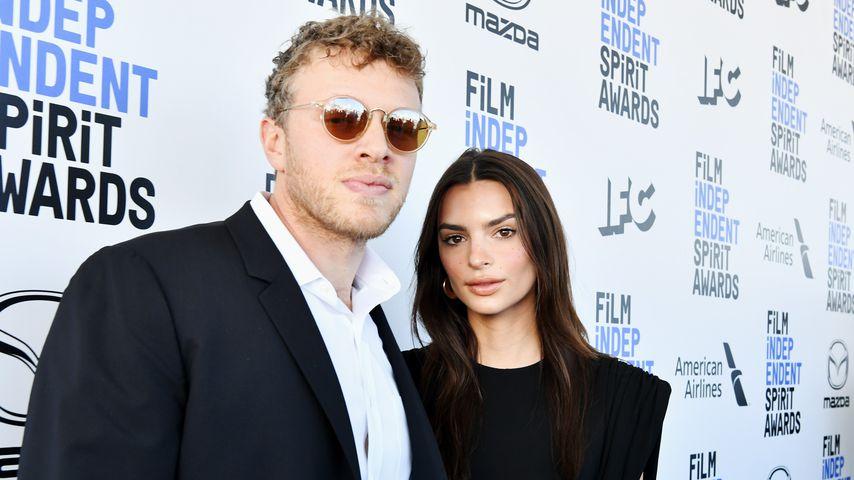 Sebastian Bear-McClard und Emily Ratajkowski, Februar 2020