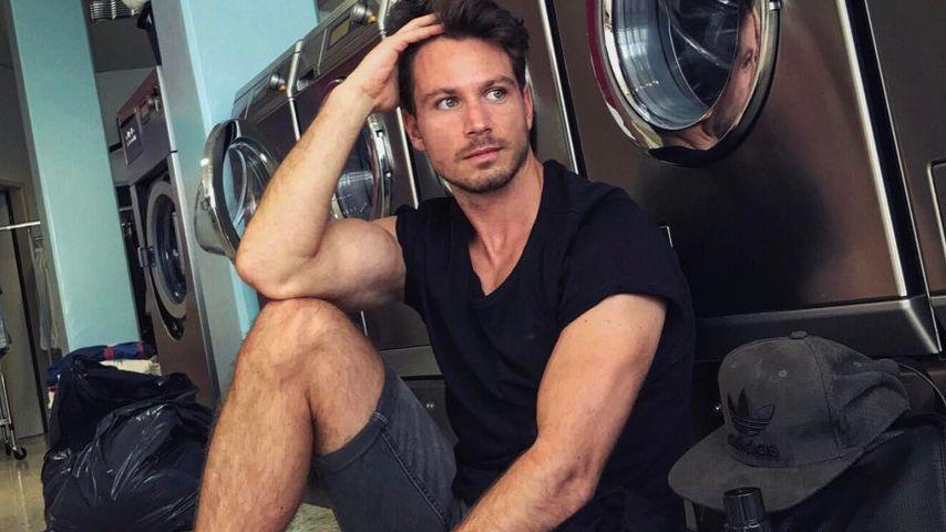 Sebastian Pannek im Waschsalon