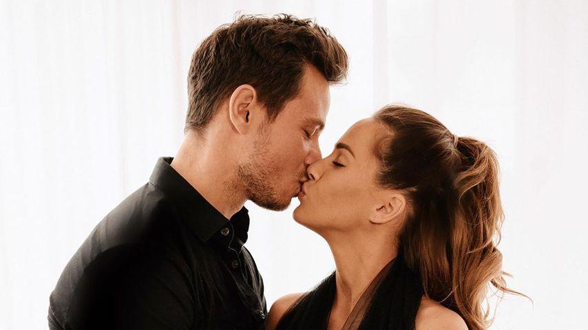 Sebastian und Angelina Pannek im April 2020