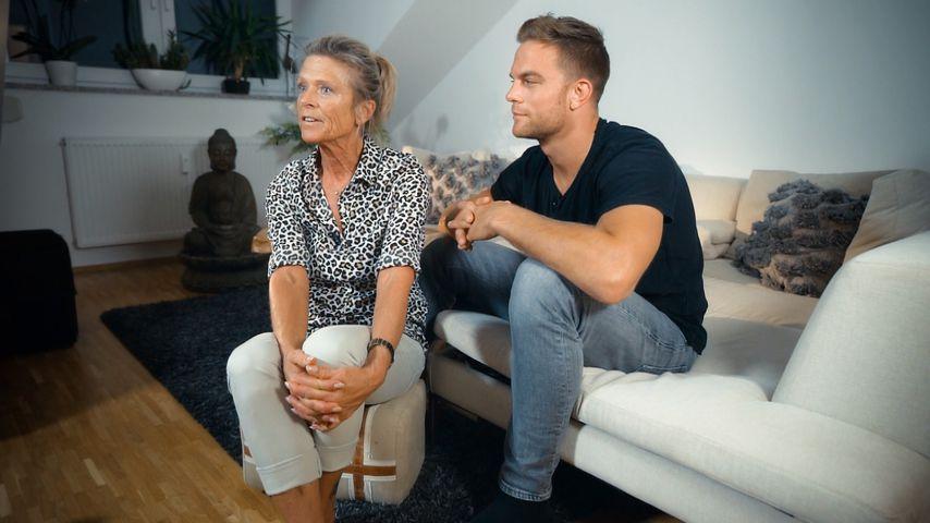 Bachelor Sebastian Preuss mit seiner Mutter