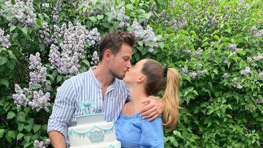 Sebastian und Angelina Pannek im Mai 2020