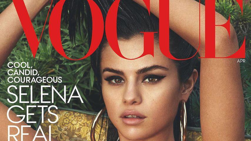Selena Gomez auf dem Cover der amerikanischen Vogue