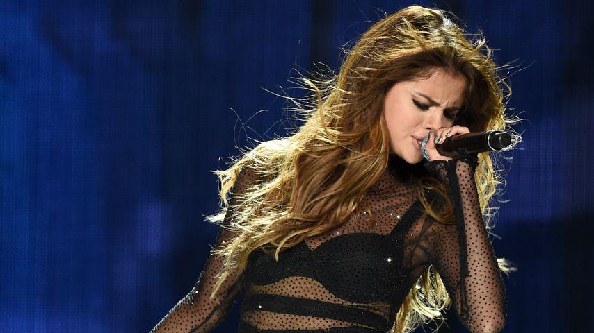 Selena Gomez bei einem Konzert in Los Angeles