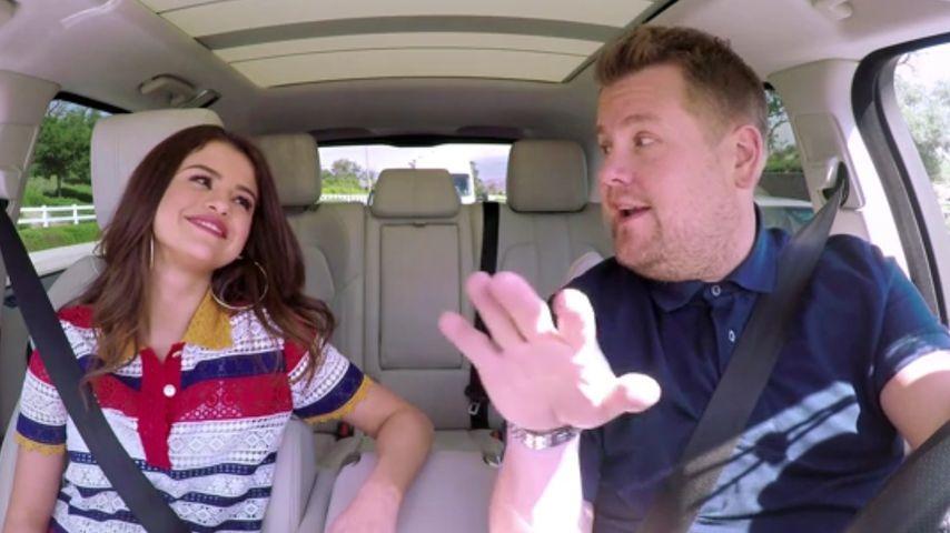 """Selena Gomez' """"Carpool Karaoke""""-Debüt"""
