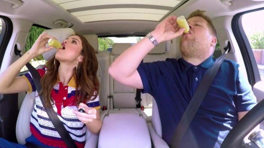 Selena Gomez beim Carpool Karaoke
