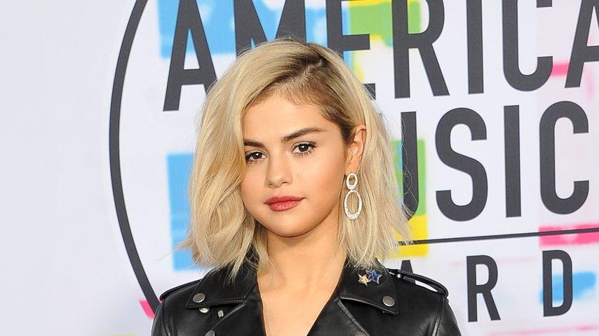 Erfolgssängerin Selena Gomez bei den American Music Awards 2017