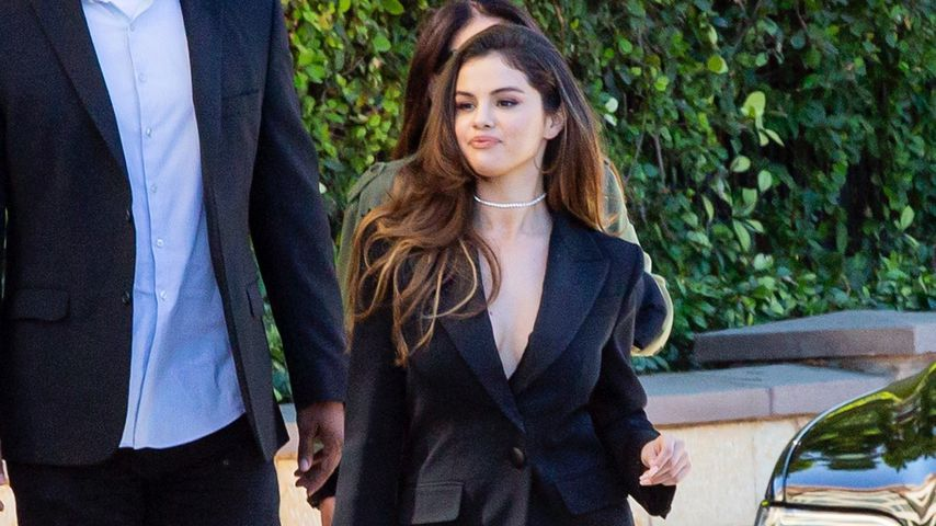 Selena Gomez geht zu einem Business Meeting in Kalifornien, Oktober 2019