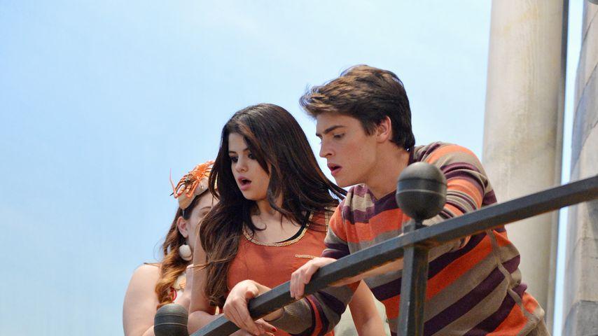 """Selena Gomez und Gregg Sulkin in """"Die Zauberer vom Waverly Place"""", 2007"""