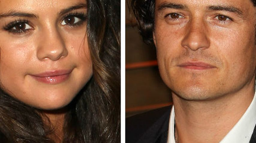 Heißer Flirt bei Selena Gomez & Orlando Bloom?