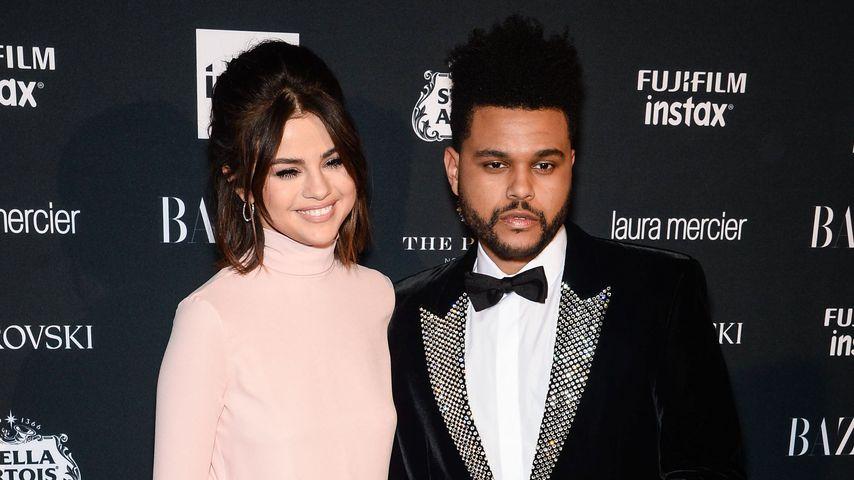 Selena Gomez und The Weeknd auf der New York Fashion Week 2017