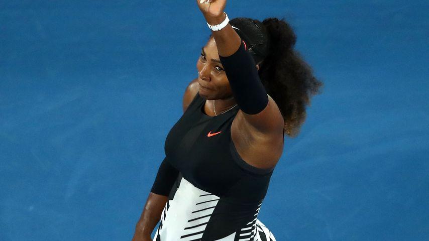 Tennis-Rekord mit Baby: Serena Williams siegte schwanger!