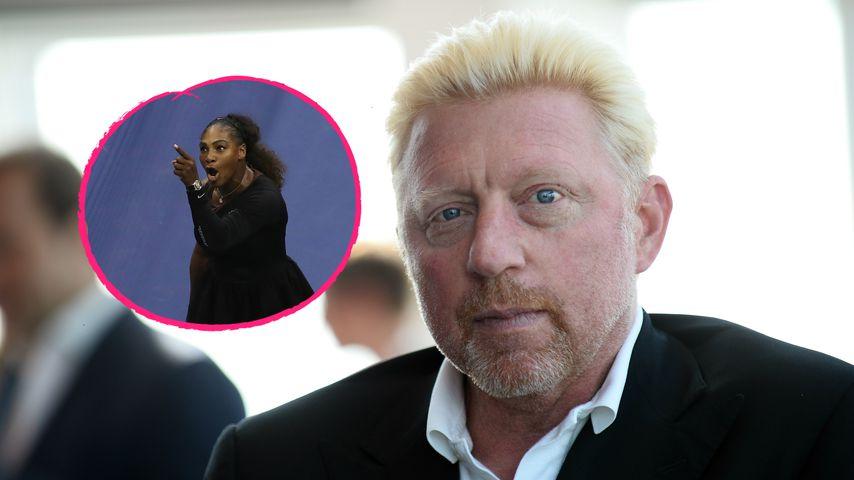 Serena Williams' Ausraster: Rückendeckung von Boris Becker!