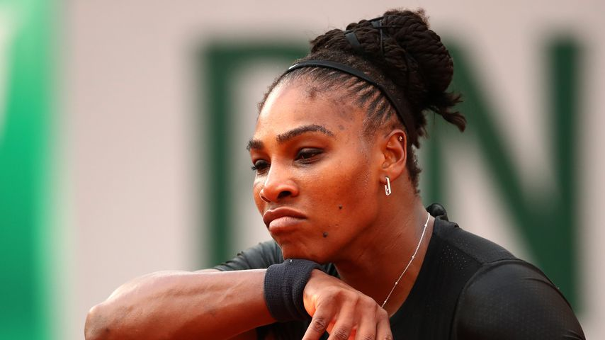 Tennis-Profi Serena Williams bei den French Open 2018 in Paris