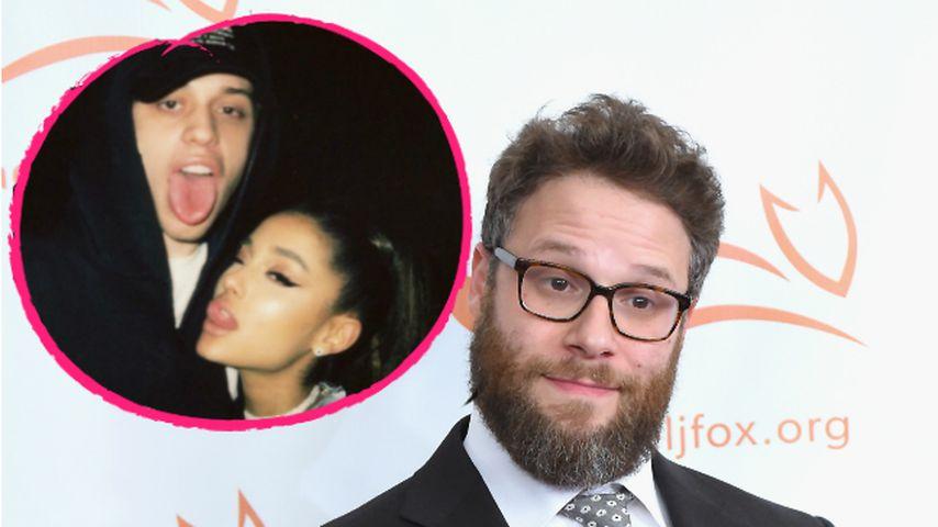 Arianas & Petes Geturtel: Seth Rogen ist total genervt!
