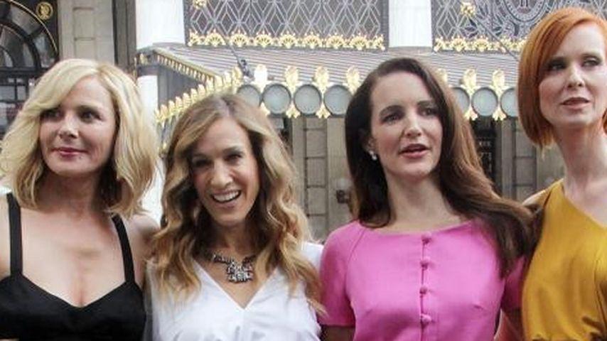 Sarah Jessica Parker, Kim Cattrall, Kristin Davis und Cynthia Nixon
