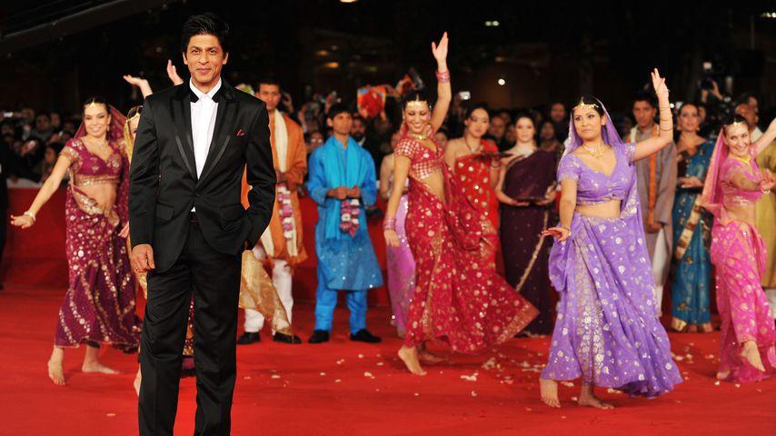 """Shah Rukh Khan auf der """"My Name is Khan""""-Premiere in Rom, 2010"""