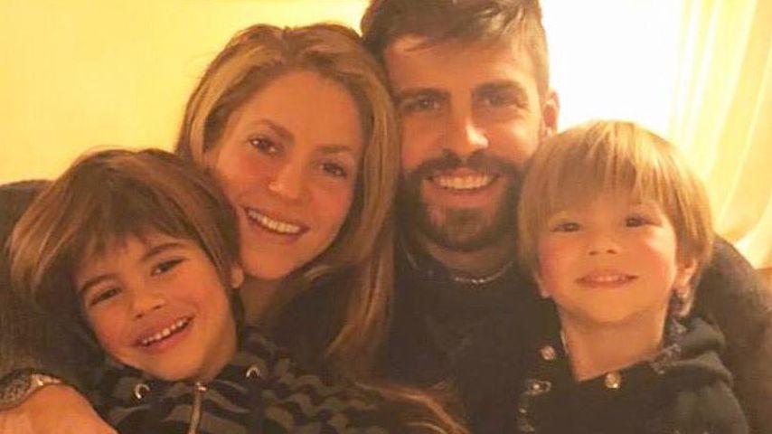 Mit Mann & Söhnen: Shakira teilt süßes Foto ihrer Familie!