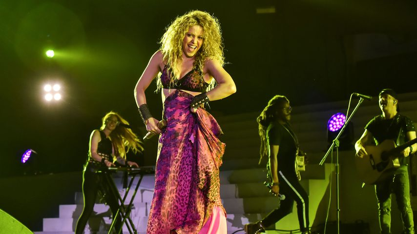 Shakira bei den Central American and Caribbean Games in Barranquilla