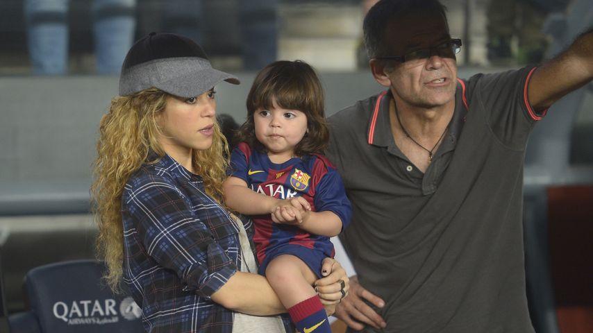 Shakira und Milan Piqué Mebarak