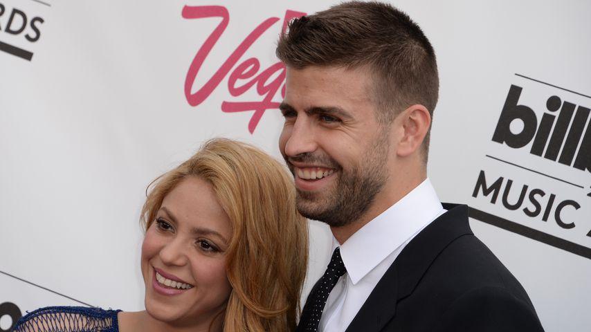 Shakira und Gerard Piqué bei den Millboard Music Awards 2014