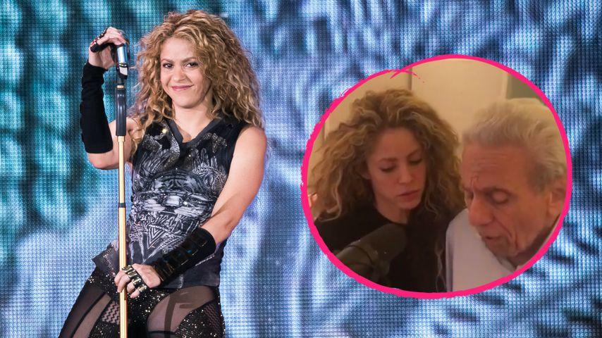 Gesangs-Talent geerbt? Popstar Shakira singt mit seinem Papa