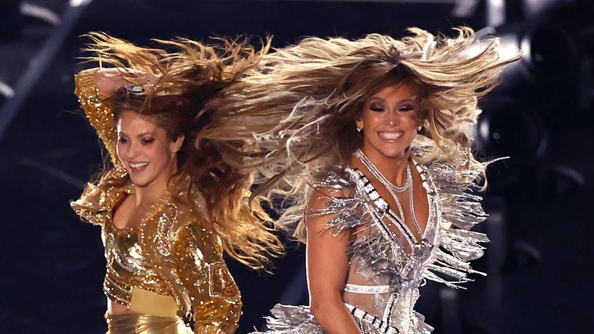 Shakira und Jennifer Lopez beim Super Bowl 2020