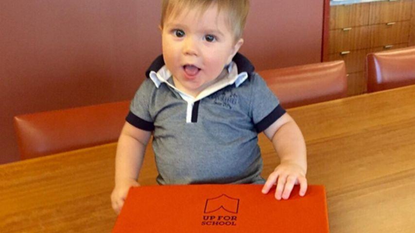 Süß: Baby-Sasha unterstützt Shakira bei UNICEF-Projekt