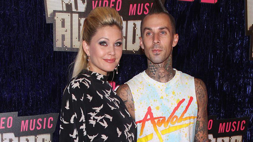 Shanna Moakler und Travis Barker bei den MTV Video Music Awards, 2007