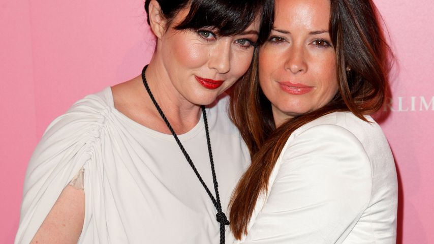 Shannen Doherty und Holly Marie Combs bei einem Event in West Hollywood im April 2012