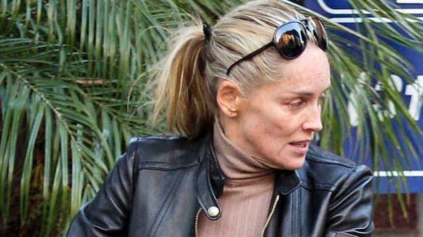Wow! So sieht Sharon Stone ungeschminkt aus