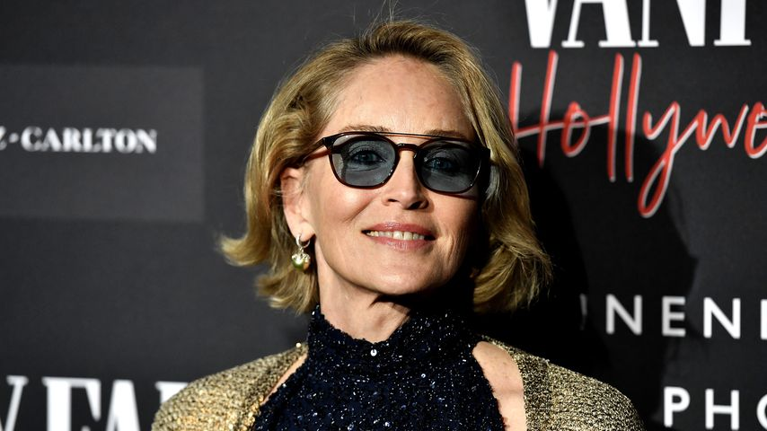 Sharon Stone im Februar 2020