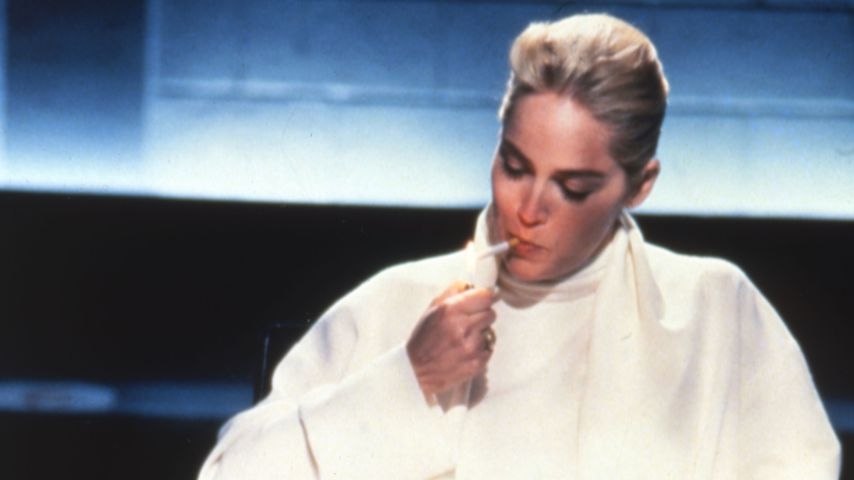 "Sharone Stone in dem Film ""Basic Instinct"""