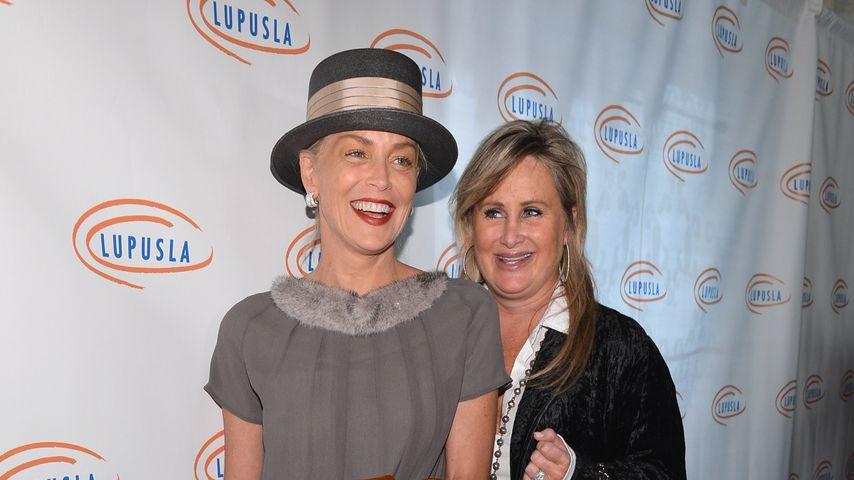 Sharon Stone mit ihrer Schwester Kelly, November 2012