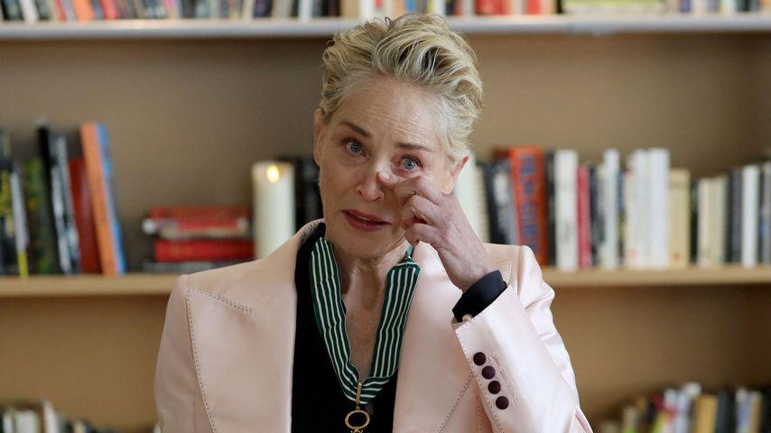 Sharon Stone beim Filmfestival in Cannes, Juli 2021