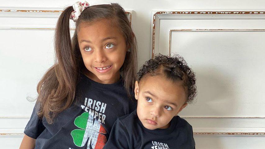 Shayanna Jenkins' Töchter Avielle und Giselle