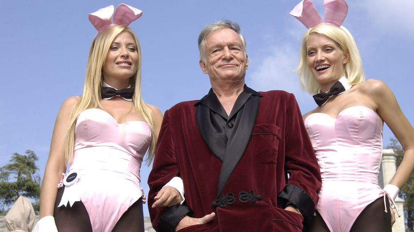 Sheila Levell, Hugh Hefner und Holly Madison