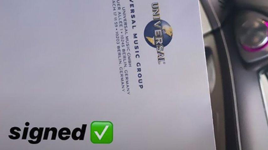 Shirin Davids Plattenvertrag mit der Universal Music Group