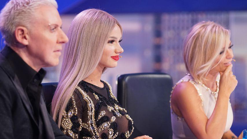 H.P. Baxxter, Shirin David und Michelle beim DSDS-Casting