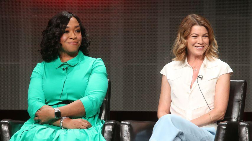 Shonda Rhimes und Ellen Pompeo bei einem Event des US-Senders ABC in Beverly Hills