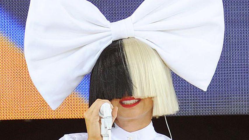 Sia bei ihrem Auftritt beim Good Morning America Sommer Konzert in New York
