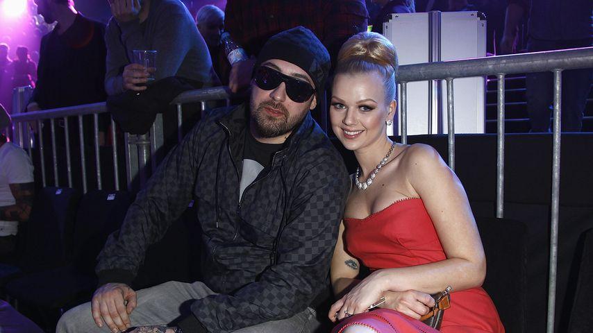 Sido und Doreen Steinert, März 2012