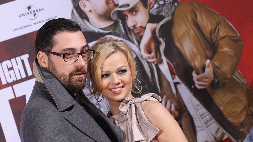 Sido und Doreen Steinert im Dezember 2011