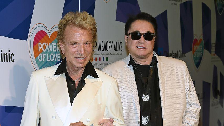 Siegfried Fischbacher und Roy Horn, 2015 in Las Vegas