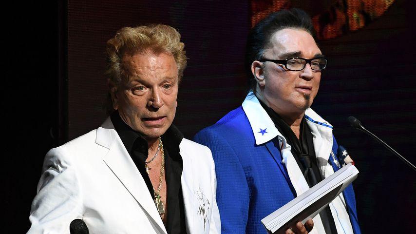 Siegfried Fischbacher und Roy Horn im September 2016 in Las Vegas
