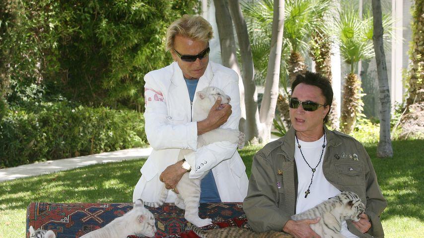 Siegfried Fischbacher und Roy Horn in Las Vegas, 2008