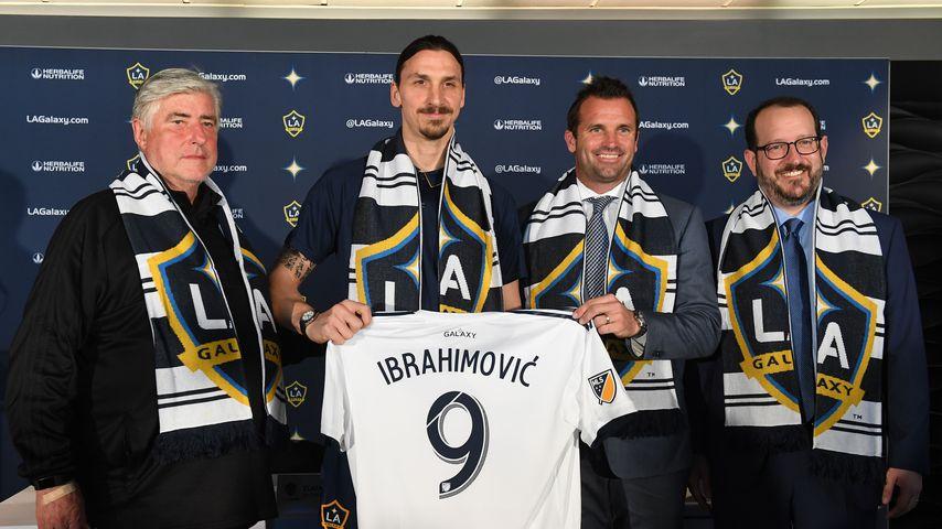 Sigi Schmid und Zlatan Ibrahimovic