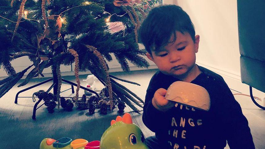 Sila Sahins Sohn Elija im Dezember 2019