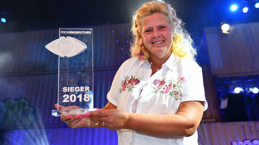 "Silvia Wollny, ""Promi Big Brother""-Siegerin 2018"